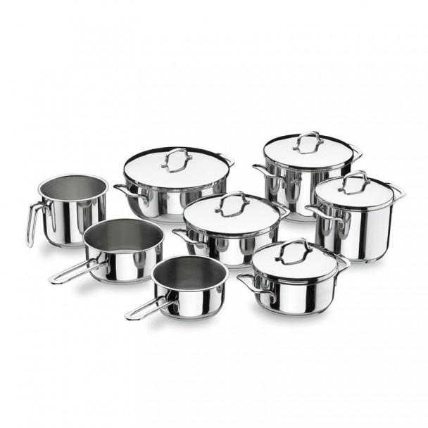 Batería de Cocina 8 Piezas Gourmet