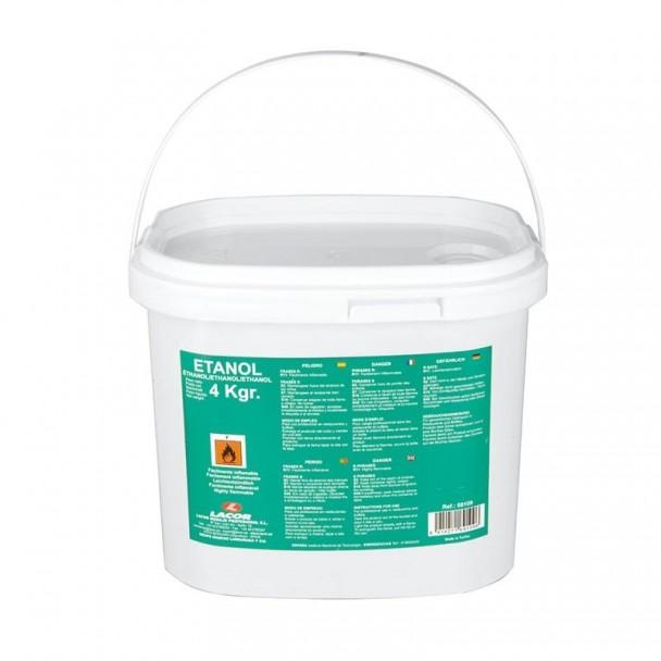 Cubo 4 kg Gel Combustible Etanol