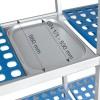 Estantería Modular Doble 8 Estantes Fondo 560 mm Alto 1750 mm