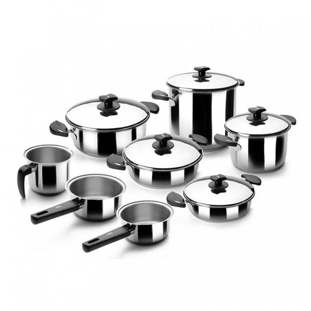 Batería de Cocina 8 Piezas Nova-Ladycor