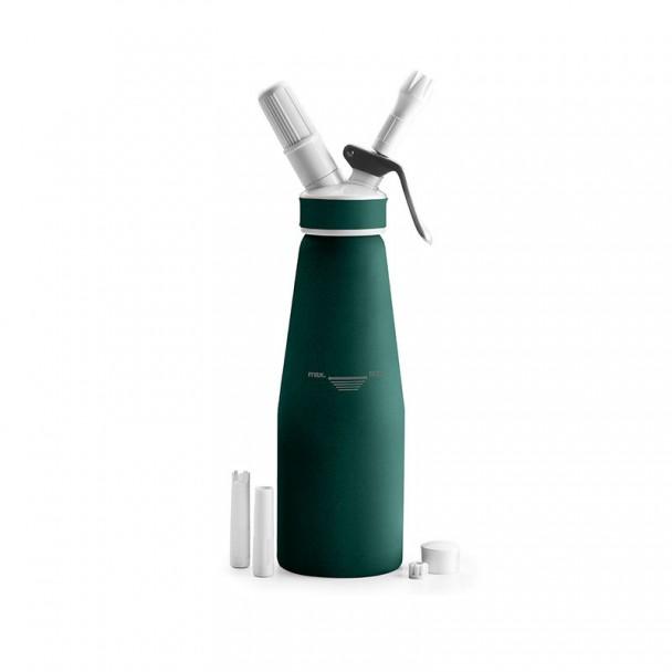 Botella Sifón Crema Aluminio Green
