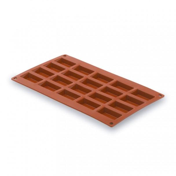 Molde Rectángulo Pequeño 20 Cavidades Silicona Pastryflex