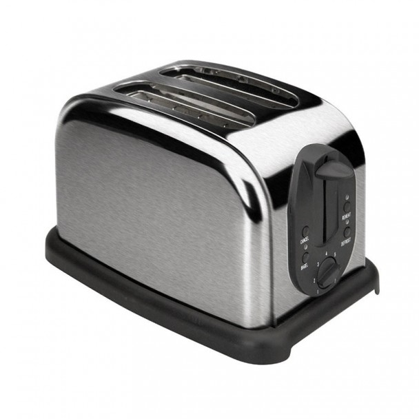 Tostadora Automática 2 Ranuras para Rebanadas de Pan