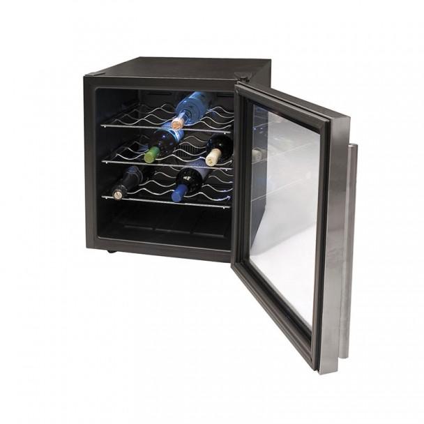Armario Refrigerador Eléctrico 46 l/70 W - 16 Botellas Inox Line