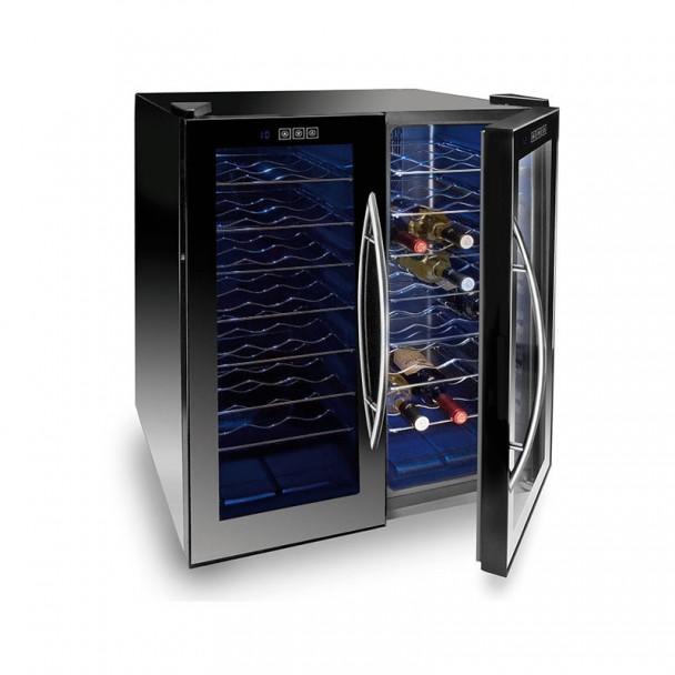 Armario Refrigerador Eléctrico 140 l/180 W - 48 Botellas Black Line