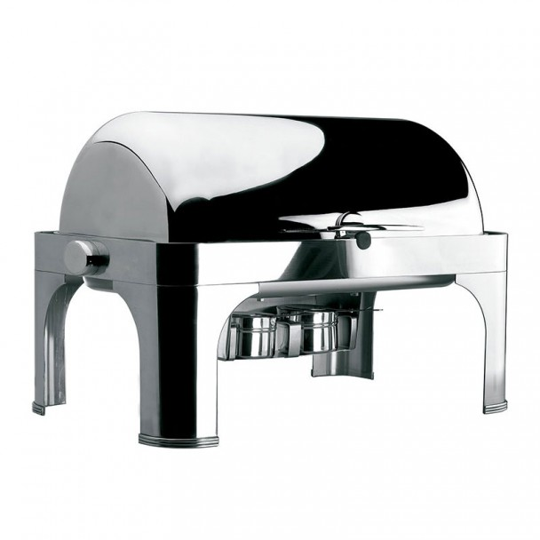 Chafing Dish GN 1/1 Roll Top con Patas Inox