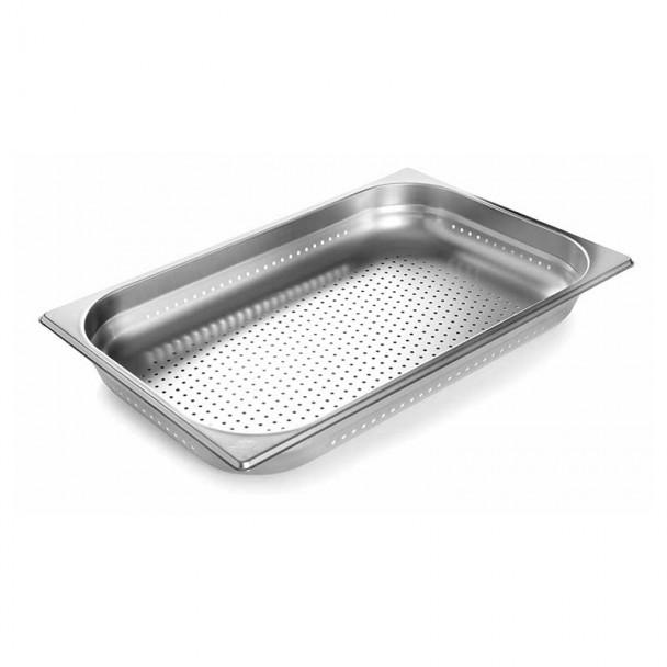 Cubeta Perforada Inox Aisi 200 Gastronorm 2/1