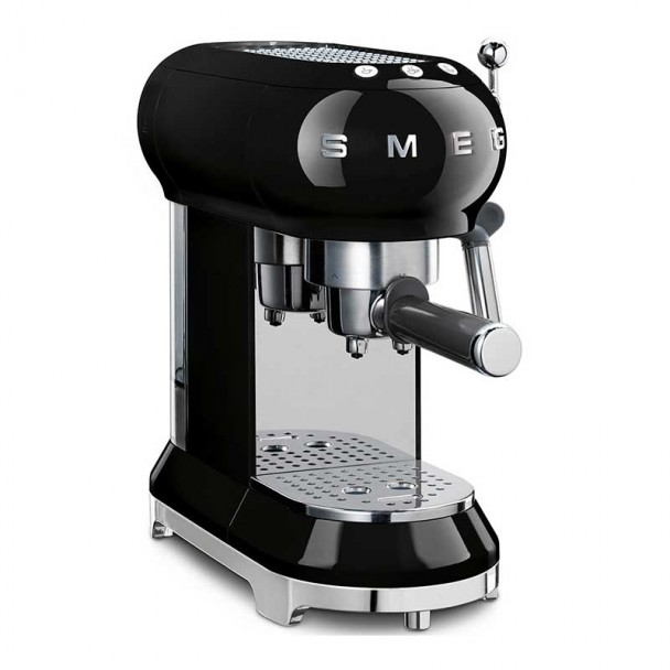 Cafetera Espresso 50's Style Negra