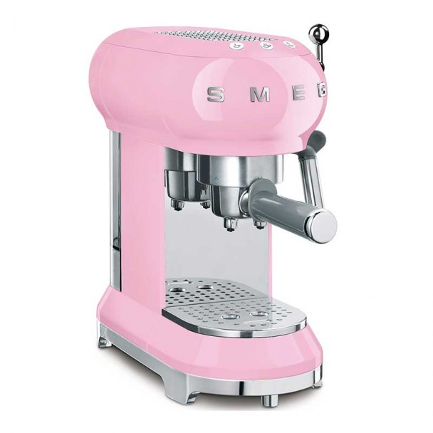 Cafetera Espresso 50's Style Rosa